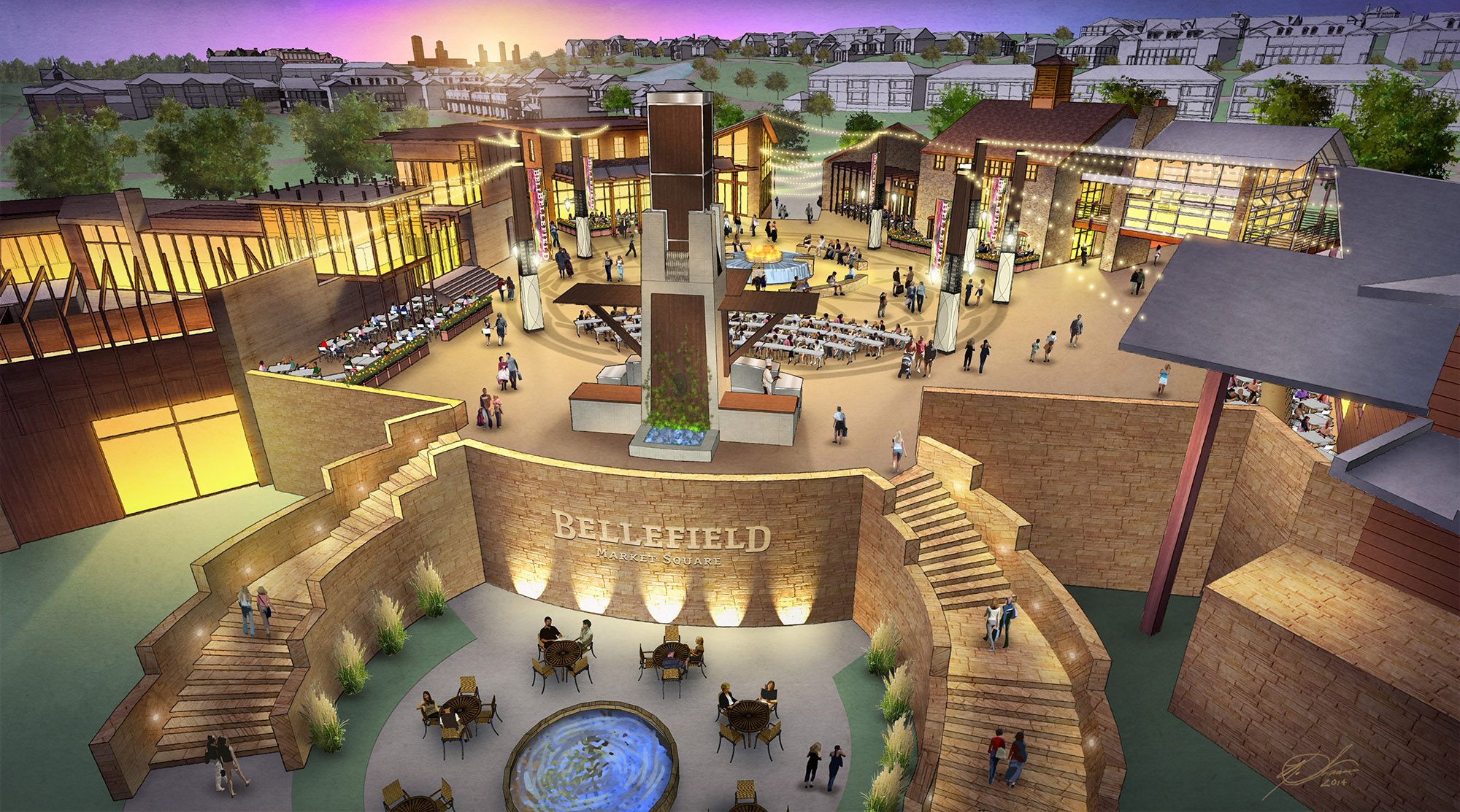 Bellefield at Historic Hyde Park Market Square