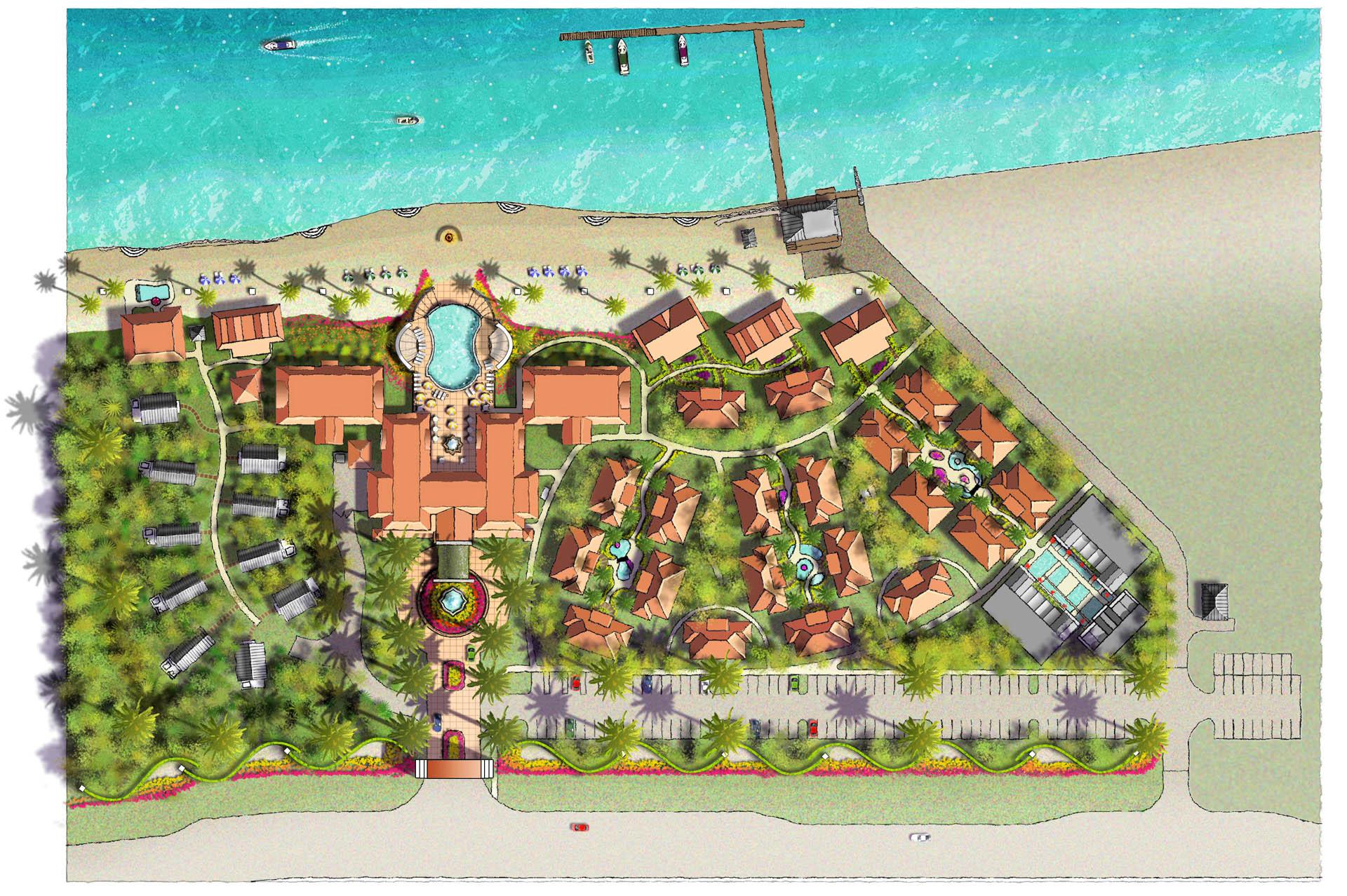 Playa Cristal Site Plan