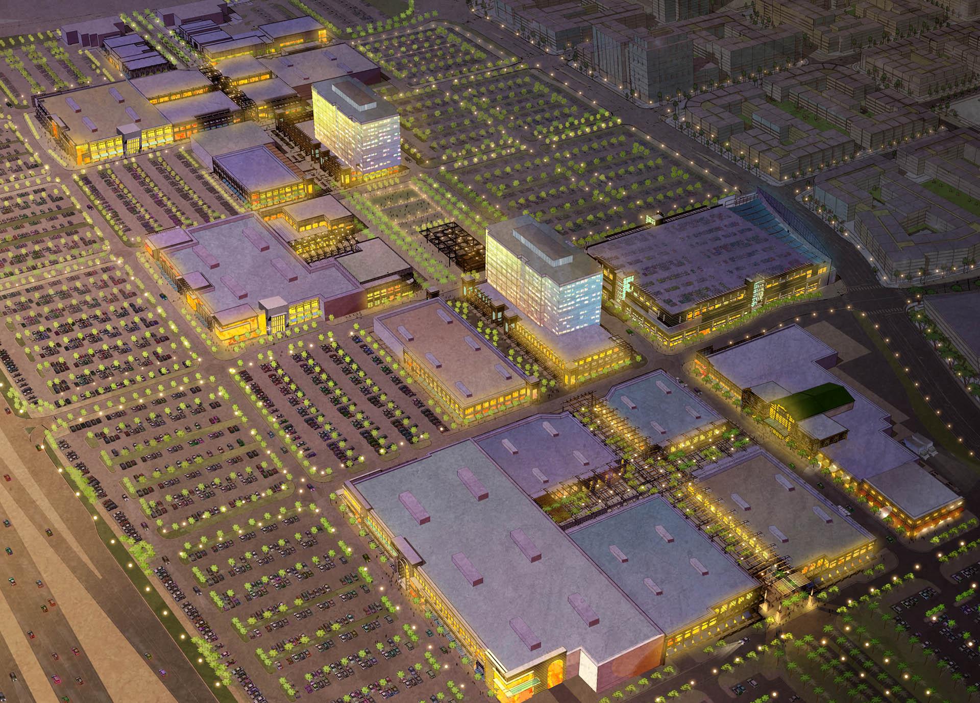 Summerlin Center Aerial View