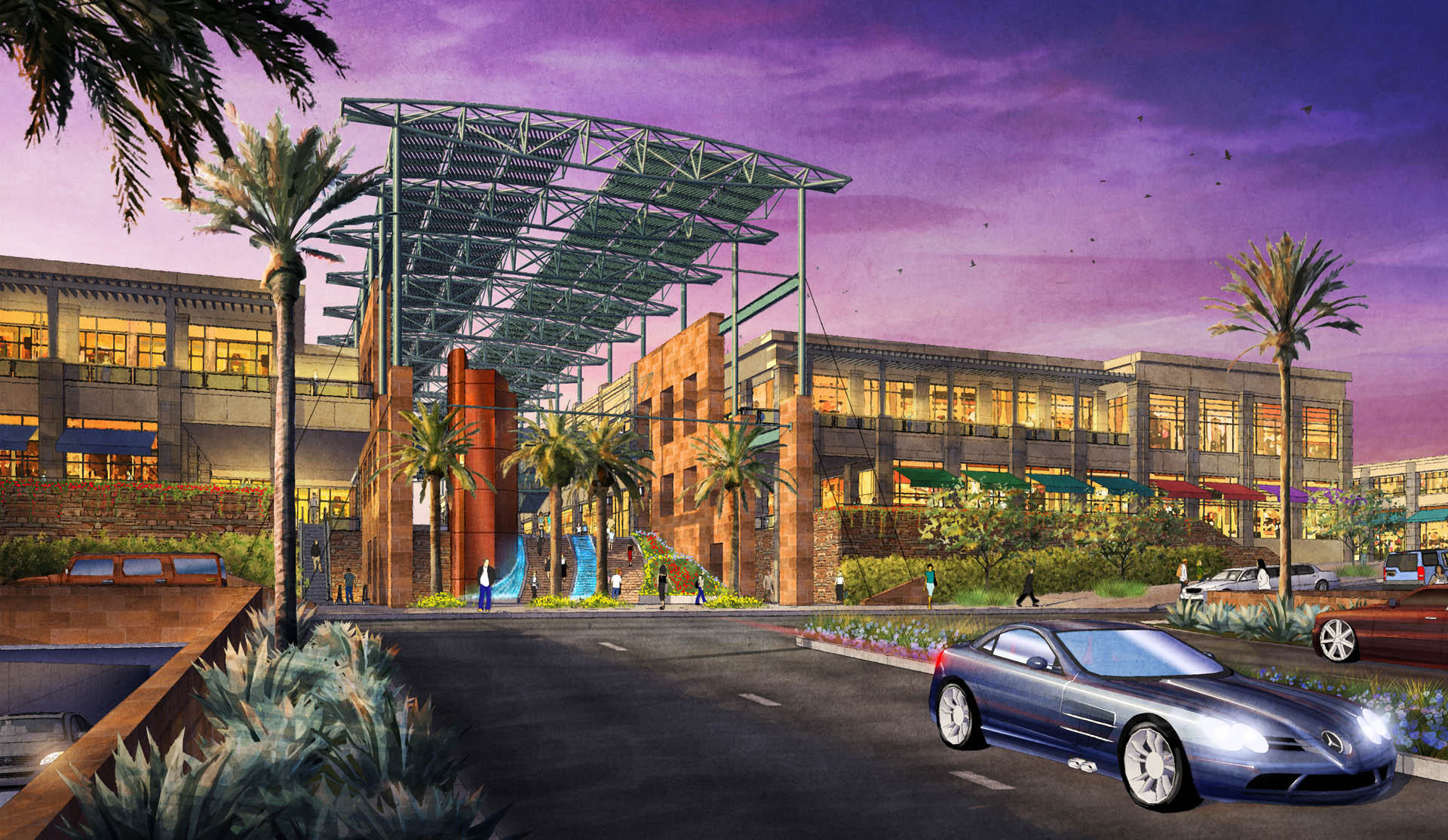 Summerlin Center District 6 Entry