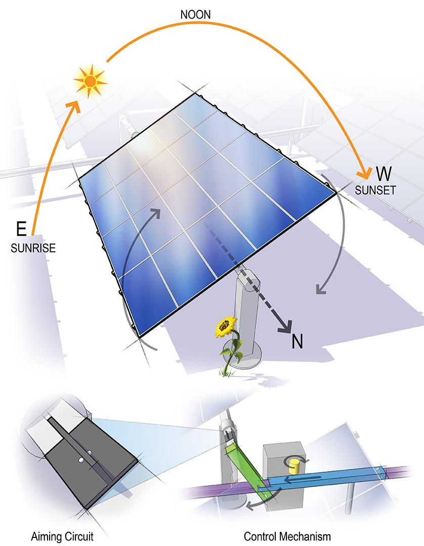 Sun Tracking PV Array