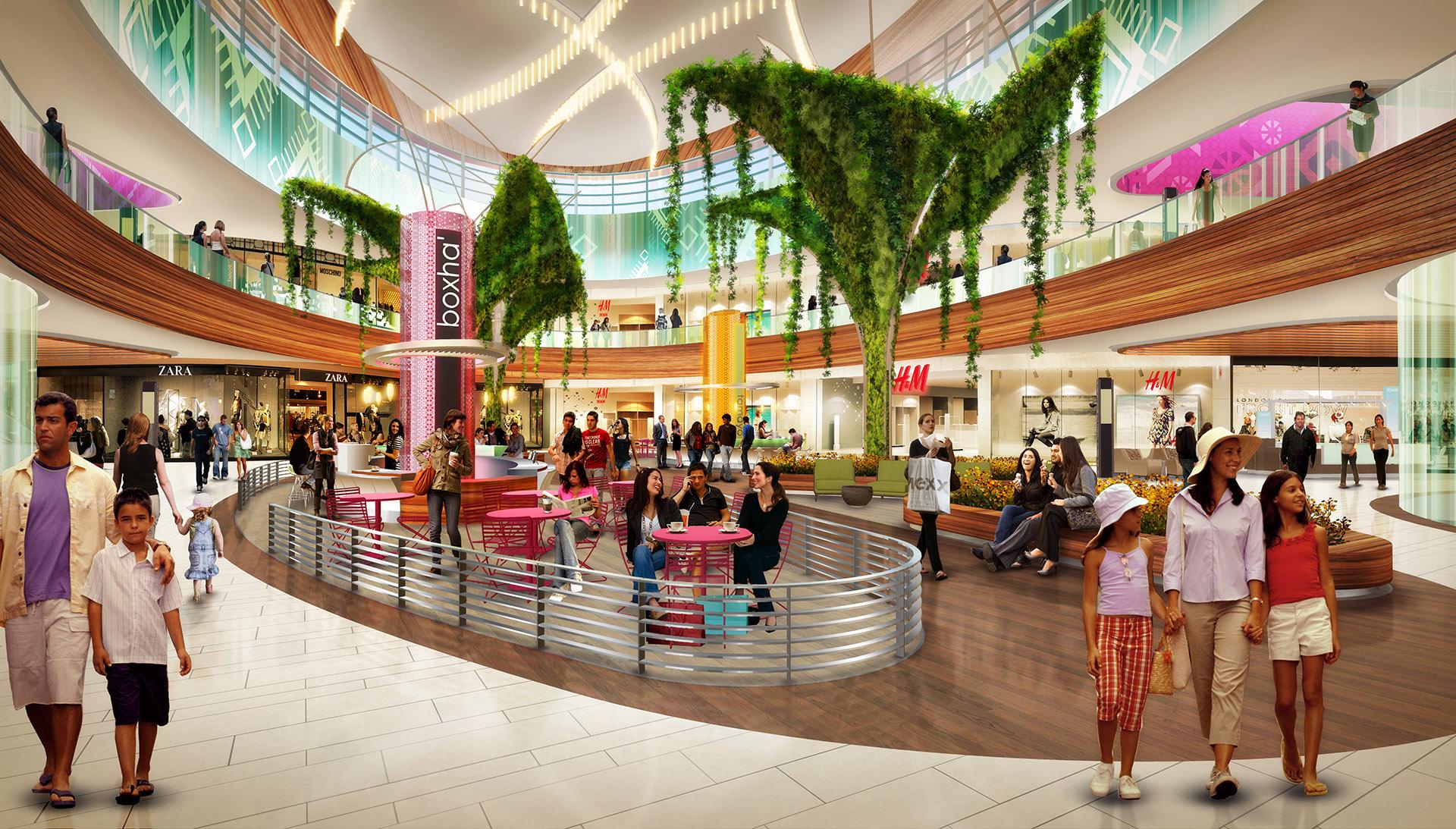 Fashion Mall Interior