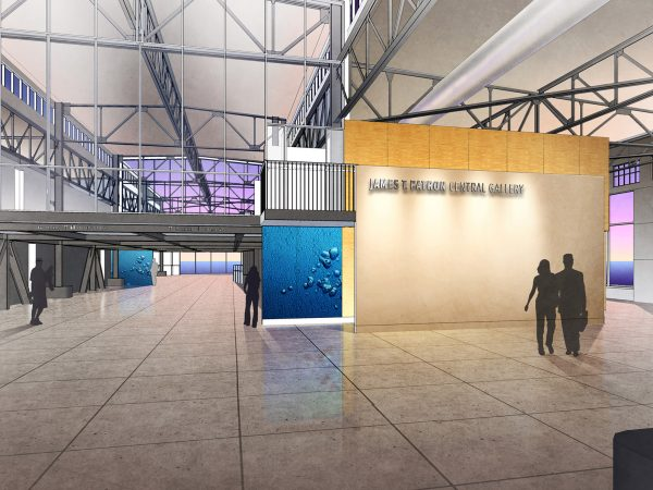 Rendering of Exploratorium Central Gallery