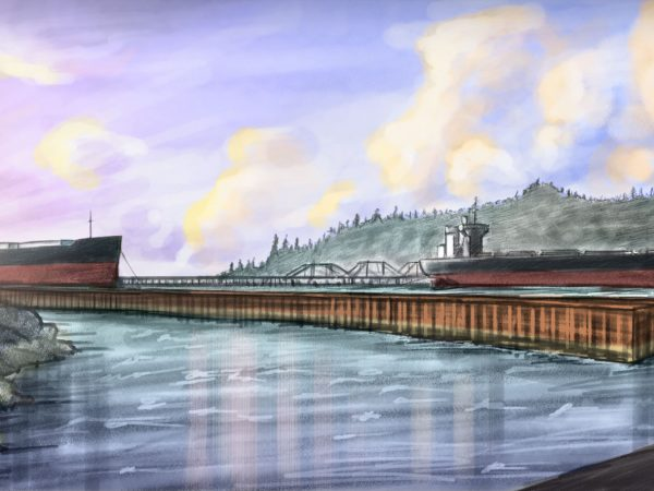 Astoria East Mooring Basin Illustration