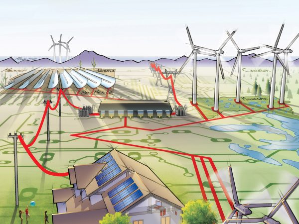 Smart Grid Cover Illustration